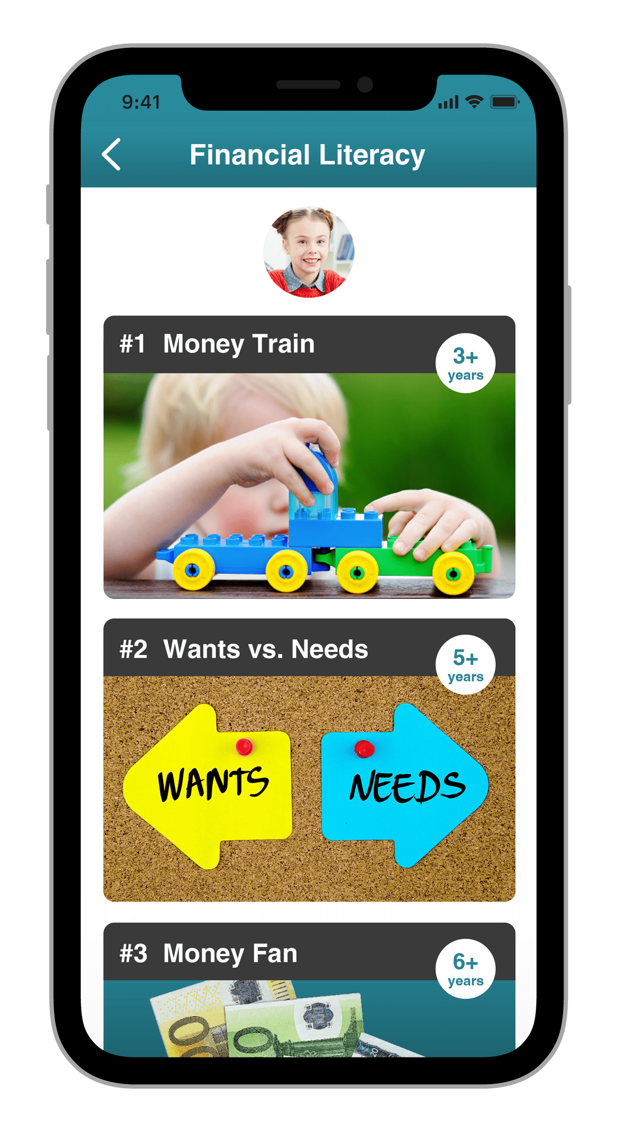 fintune parents app financial literacy